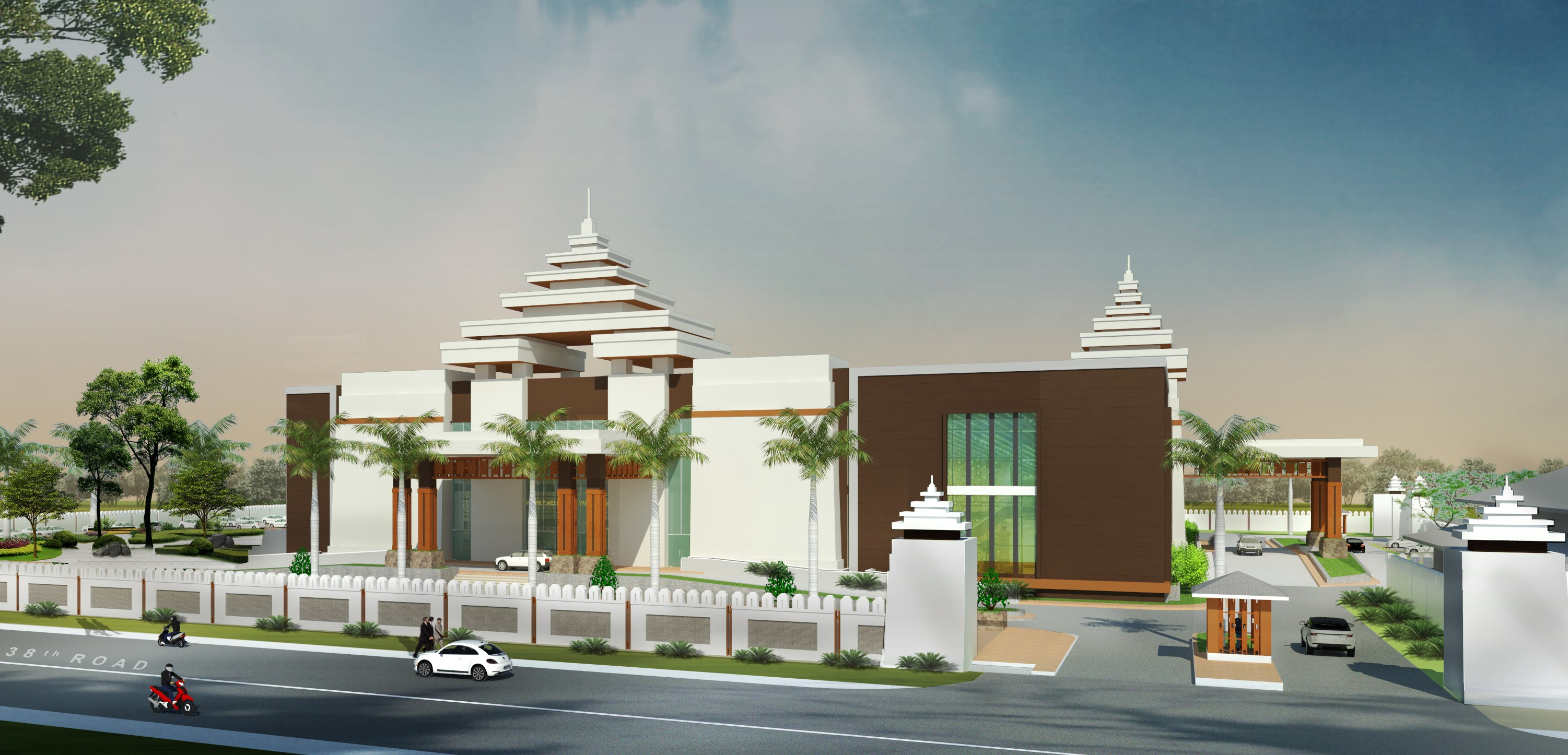 YANDANARPON MULTI FUNCTION HALL(MANDALAY)